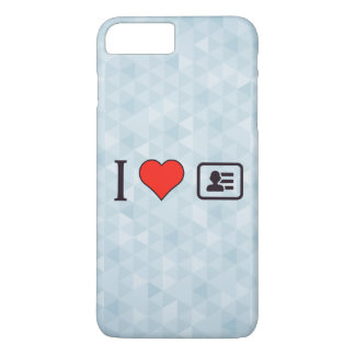 I Heart Being A Business Men iPhone 7 Plus Case