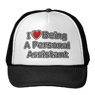 I Heart Being a Personal Assistant Trucker Hat