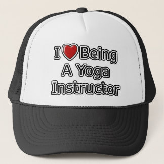 I Heart Being a Yoga Instructor Trucker Hat