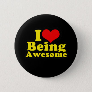 I Heart Being Awesome Button