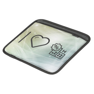 I Heart Being Healthys iPad Sleeve