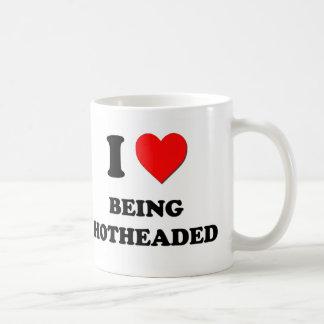 I Heart Being Hotheaded Mugs