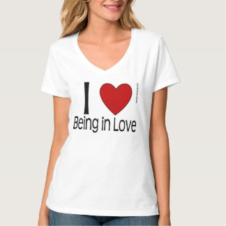 I Heart Being in Love Shirt