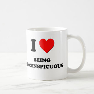 I Heart Being Inconspicuous Coffee Mug