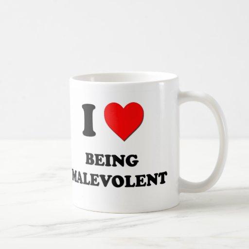 I Heart Being Malevolent Mug