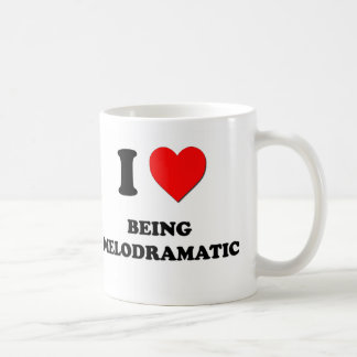 I Heart Being Melodramatic Classic White Coffee Mug
