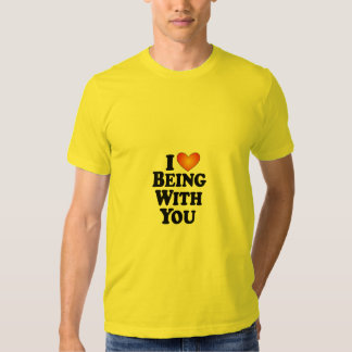 I (heart) Being With You - T-Shirt Multi-Products