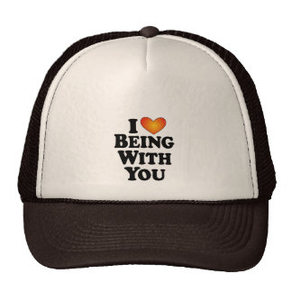 I (heart) Being With You - T-Shirt Multi-Products Trucker Hat