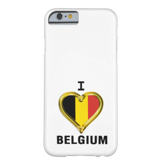 I HEART BELGIUM BARELY THERE iPhone 6 CASE