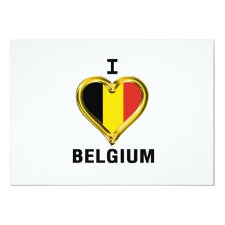 I HEART BELGIUM CARD