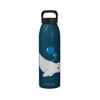 I Heart Belugas Water Bottle