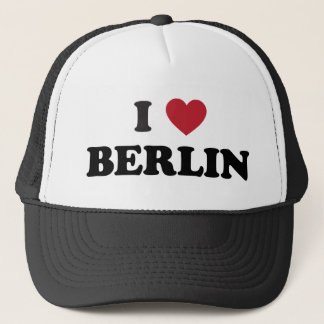 I Heart Berlin Germany Trucker Hat