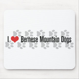 I (heart) Bernese Mountain Dogs Mouse Pad