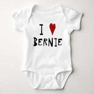 I Heart Bernie Baby Bodysuit
