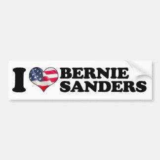 I Heart Bernie Sanders Bumper -.png Car Bumper Sticker