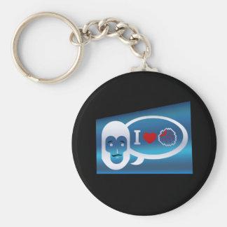I (heart) Berries Keychain