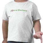 i heart beta blockers red green tee