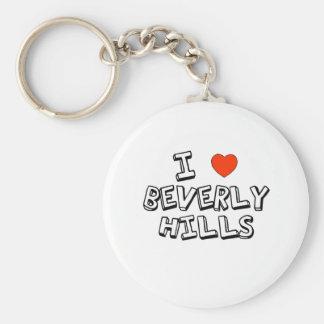 I Heart Beverly Hills Keychain
