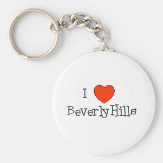 I Heart Beverly Hills Key Chain