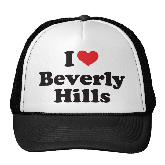 I Heart Beverly Hills Trucker Hat