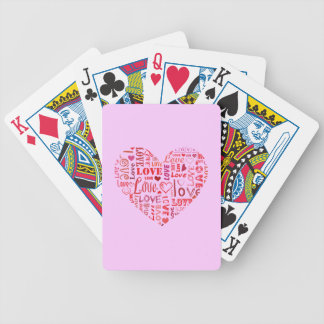I heart bicycle poker cards