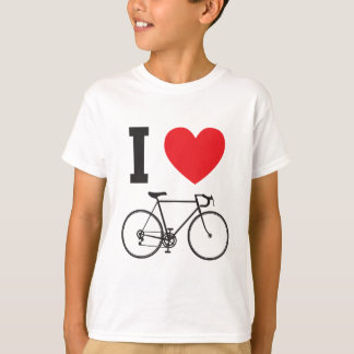 I Heart Bicycle T-Shirt