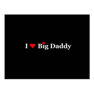 I Heart Big Daddy Gifts Postcards