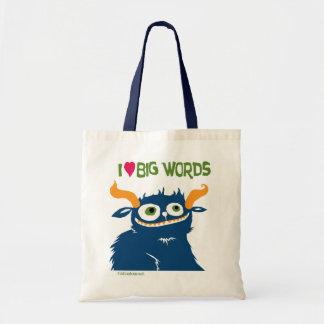 I *heart* Big Words -- bags
