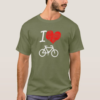 I Heart Bike T-Shirt