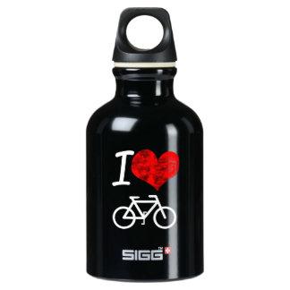 I Heart Bike Water Bottle