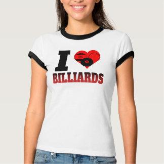 I Heart Billiards T-Shirt