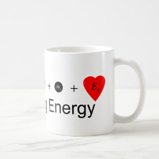 I heart Binding Energy Classic White Coffee Mug
