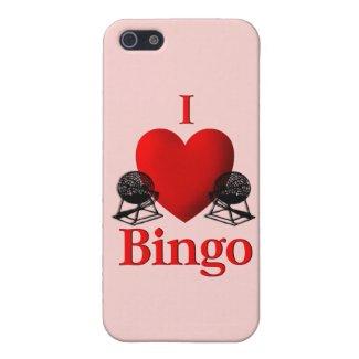 I Heart Bingo iPhone 5/5S Covers