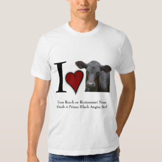 I heart Black Angus Beef T Shirt