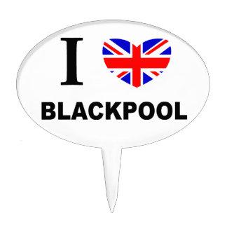 I Heart Blackpool. Cake Topper