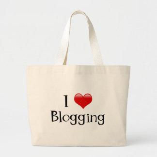 I Heart Blogging Tote Bag