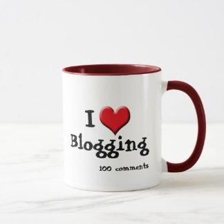 I Heart Blogging Coffee Mug