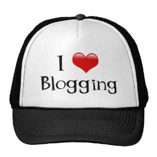 I Heart Blogging Trucker Hat