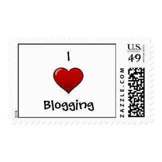 I Heart Blogging Stamps