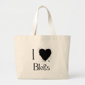 I Heart Blogs Tote Bag