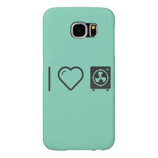 I Heart Blower Fans Samsung Galaxy S6 Cases
