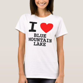 I Heart BLUE MOUNTAIN LAKE T-Shirt