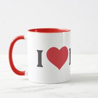 I Heart Boar Mug