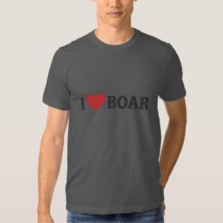 I Heart Boar Tee Shirt