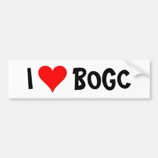 I heart BOGC Bumper Sticker