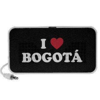 i Heart Bogotá Colombia Portable Speaker