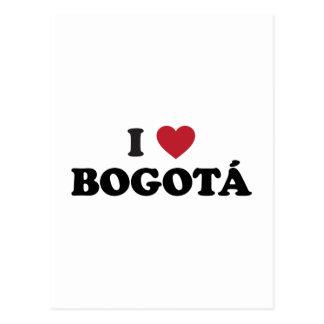 i Heart Bogotá Colombia Postcard