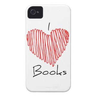 I Heart Books Case-Mate iPhone 4 Case