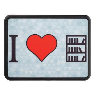 I Heart Books Hitch Cover