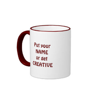 I Heart Books - I Love Books! Colorful Swirls Ringer Coffee Mug